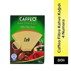 Caffeo - Caffeo Filtre Kahve Kağıdı 4 Numara 80 Adet