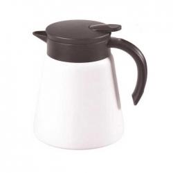 Kahveciniz - Kahveciniz Çelik Termos Beyaz 600 Ml (KTB-6)