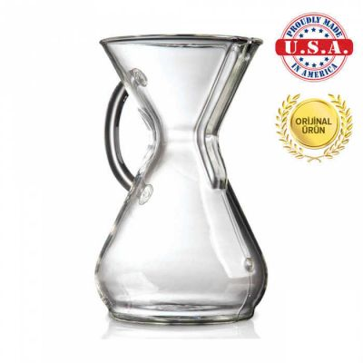 Chemex 6 Cup - Cam Tutacaklı