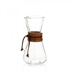 Chemex Ahşap Boyunluklu 3 Cup - Thumbnail