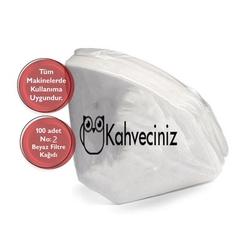 Kahveciniz - Kahveciniz 2 Numara Filtre Kahve Kağıdı 100 Adet