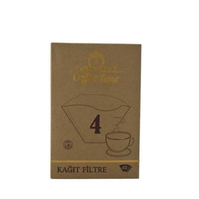 Coffee Time 1*4 40 'Lı Kahve Filtre Kağıdı