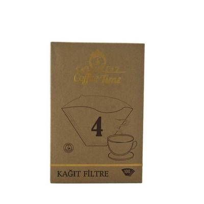 Cafetime 4 Numara 100 Adet Filtre Kahve Kağıdı