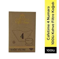 Coffee Time - Coffee Time 4 Numara 100 Adet Filtre Kahve Kağıdı (1)