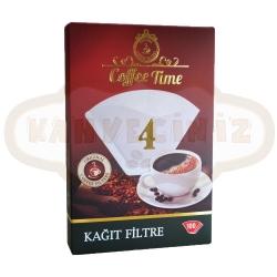 Coffee Time - Coffee Time 4 Numara 100 Adet Filtre Kahve Kağıdı