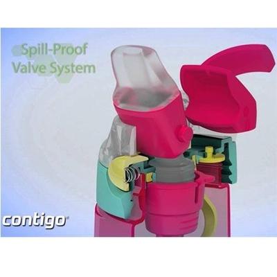 Contigo 0.42L AutoSpout® Gizmo FLIP - Cherry Blossom Lovebirds - Pembe Matara