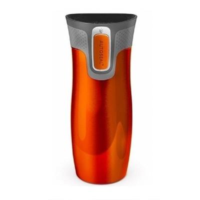 Contigo Autoseal® 0.47L West Loop SS Travel Mug Tangerine