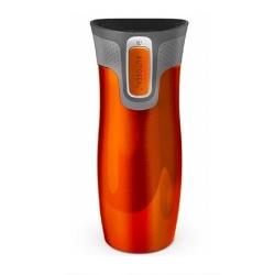 Contigo - Contigo Autoseal 470 Ml West Loop SS Travel Mug Tangerine