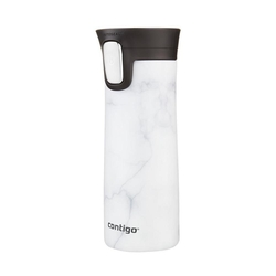 Contigo Pinnacle Couture White Marbel Çelik Termos Mug - Thumbnail