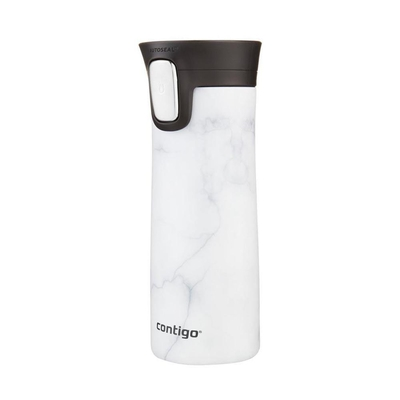 Contigo Pinnacle Couture White Marbel Çelik Termos Mug
