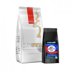 Prince - Dolce Aroma Çekirdek Kahve 1 Kg Ve Beyaz Çikolata 250 Gr