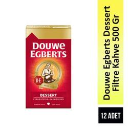 Douwe Egberts - Douwe Egberts Dessert Filtre Kahve 500 Gr 12 Adet