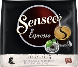 Douwe Egberts - Douwe Egberts Senseo Pads Espresso 16'lı (1)