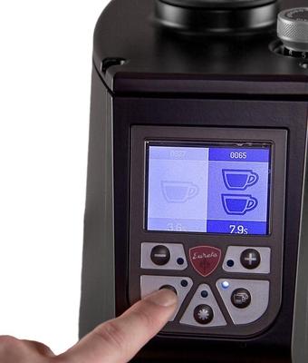 Eureka Atom Pro Kahve Değirmeni Siyah