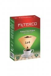 Fılterco - Fılterco 4 Numara Filtre Kahve Kağıdı 80 Adet Kahverengi