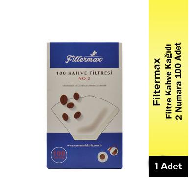Filtermax 2 Numara Filtre Kahve Kağıdı 100 Adet