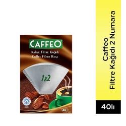 Caffeo - Caffeo Filtre Kağıdı 2 Numara 40'Lı