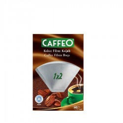 Caffeo - Filtre Kahve Kağıdı 40 Adet 2 Numara