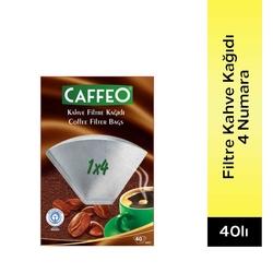 Caffeo - Caffeo Filtre Kağıdı 4 Numara 40' Lı