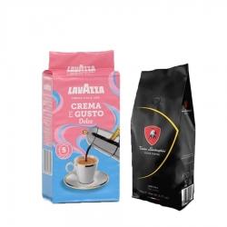 Lavazza - Filtre Kahve Seti (Lamborghini-Lavazza Crema E gusto Dolce)Muhteşem İkili