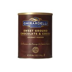 Ghirardelli - Ghirardelli Sıcak Çikolata Toz Karışımı 1,36 Kg