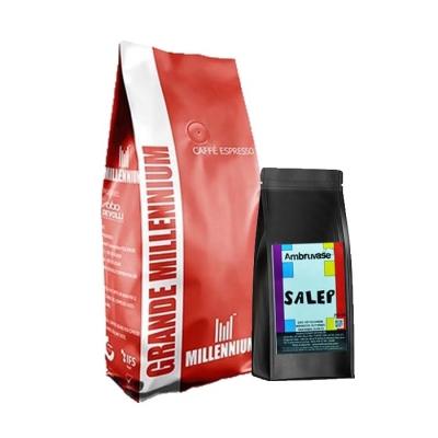 Grande Millennium Çekirdek Kahve 1 Kg Ve Sahlep 250 Gr