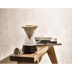 Hario - Hario Metal Drip Decanter VPD-02HSV (1)
