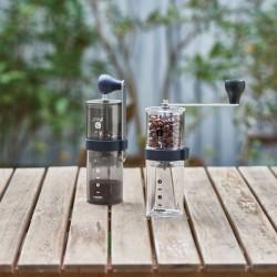 Hario - Hario Smart G Kahve Degirmeni Siyah Seffaf MSG-2-TB (1)