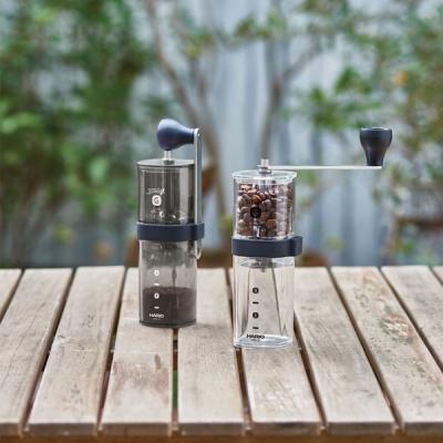 Hario Smart G Kahve Değirmeni Siyah Şeffaf MSG-2-TB