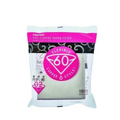 Hario Beyaz Poşet Filtre Kahve Kağıdı 100 Adet VCF-02-100W