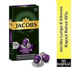 Jacobs - Jacobs Lungo 8 İntenso Kapsül Kahve 10 Lu