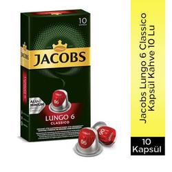 Jacobs - Jacobs Lungo 6 Classico Kapsül Kahve 10'Lu