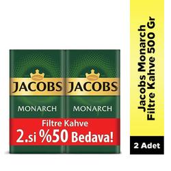 Jacobs - Jacobs Monarch Filtre Kahve 500 Gr 2.si %50 İndirimli