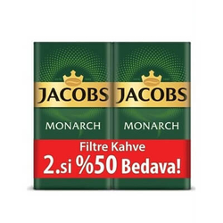 Jacobs - Jacobs Monarch Filtre Kahve 500 Gr 2.si %50 İndirimli (1)