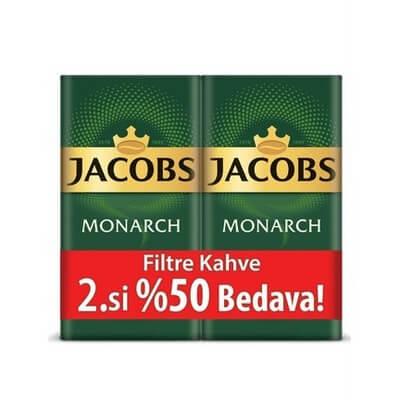 Jacobs Monarch Filtre Kahve 500 Gr 2.si %50 İndirimli