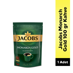 Jacobs - Jacobs Monarch Gold Kahve 100 Gr