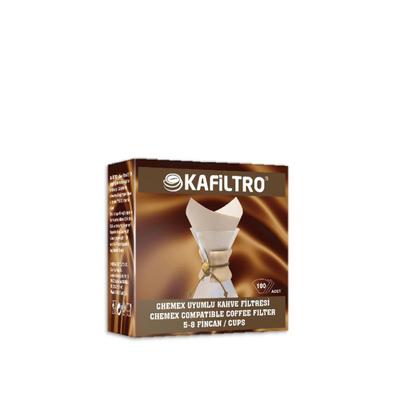 Kafiltro Chemex Uyumlu Filtre Kağıdı 100 Lü