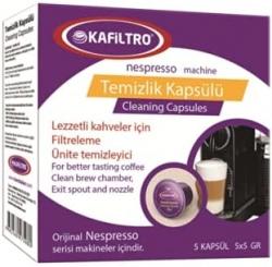 Kafiltro - Kafiltro Nespresso Makinesi Temizlik Kapsülü 5*5 Gr