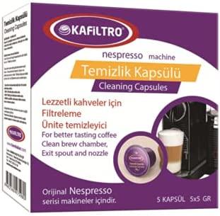 Kafiltro Nespresso Makinesi Temizlik Kapsülü 5*5 Gr