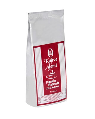 Kahve Alemi Damla Sakizli Türk Kahvesi 400 Gr