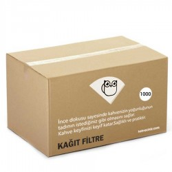 Kahveciniz - 250/90 Basket Filtre Kahve Kagidi 1000 li (1)