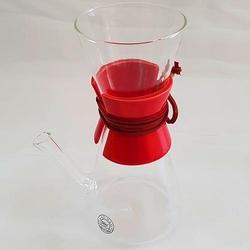 Kahveciniz - Kahveciniz Chemex 3 Cup Kırmızı