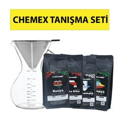 Kahveciniz - Kahveciniz Chemex Tanışma Seti