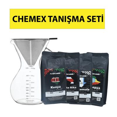 Kahveciniz Chemex Tanışma Seti