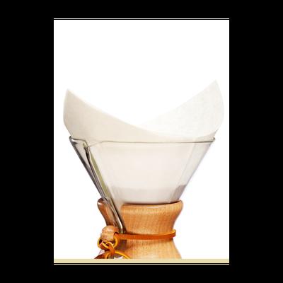 Kahveciniz Chemex Uyumlu Filtre Kağıdı 5-8 Cup 100'Lü