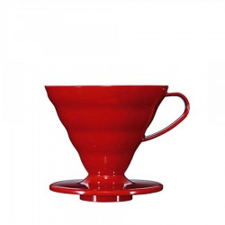 Kahveciniz - Kahveciniz V60 02 Kirmizi Seramik Dripper