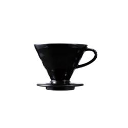 Kahveciniz - Kahveciniz V60 02 Siyah Seramik Dripper FSS-2