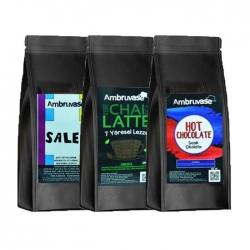 Cafe Ambruvase - Kış İçecekleri Seti ( Sıcak Çikolata,Salep,Chai Tea) 250 Gr x 3