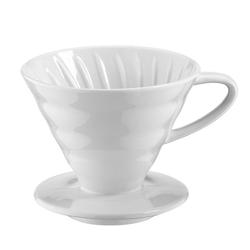 Kütahya Porselen - V60 02 Beyaz Porselen Dripper