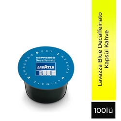 Lavazza - Lavazza Blue Decaffeinato 100 Lü Kapsül
